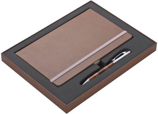 Picture of Zestaw notatnik i długopis Mark Twain