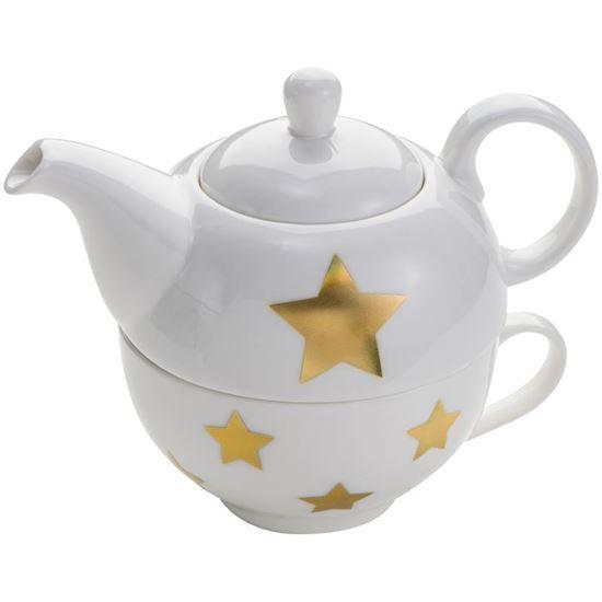 Picture of Porcelanowy zestaw do herbaty