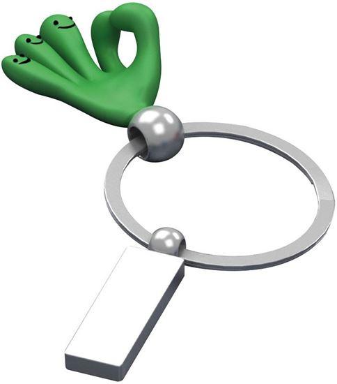 Obrazek Brelok metalowy z rączką CrisMa Smile Hand