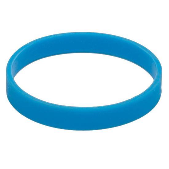 Obrazek Ozdobna opaska na kubek izotermiczny, jasnoniebieski