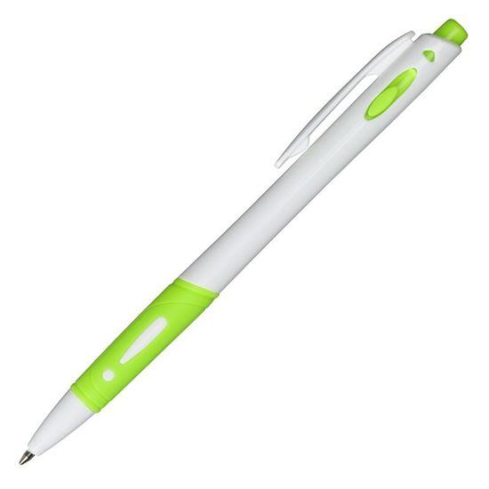 Obrazek Długopis Rubio, zielony/biały