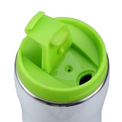 Picture of Kubek izotermiczny Astana 350 ml, zielony/biały