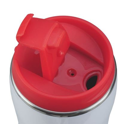 Picture of Kubek izotermiczny Astana 350 ml, czerwony/biały