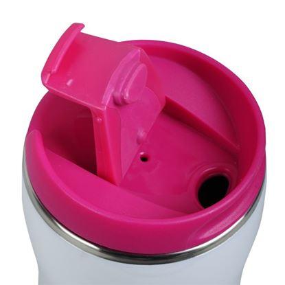 Picture of Kubek izotermiczny Astana 350 ml, różowy/biały