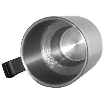 Picture of Kubek izotermiczny Auto Steel Mug 400 ml z podgrzewaczem, srebrny/czarny