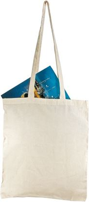 Picture of Bawełniana torba na zakupy - długie uszy, beżowy