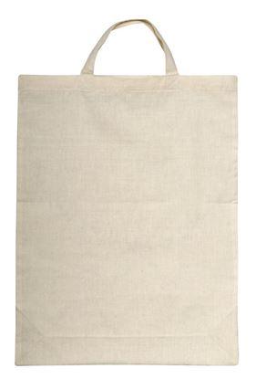 Picture of Bawełniana torba na zakupy - krótkie uszy, beżowy