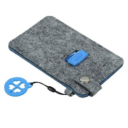 Picture of Etui na smartfona Eco-Sense, niebieski/szary