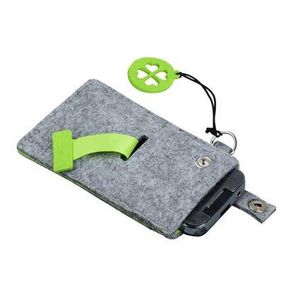 Picture of Etui na smartfona Eco-Sense, zielony/szary