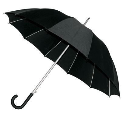Picture of Elegancki parasol Basel, czarny