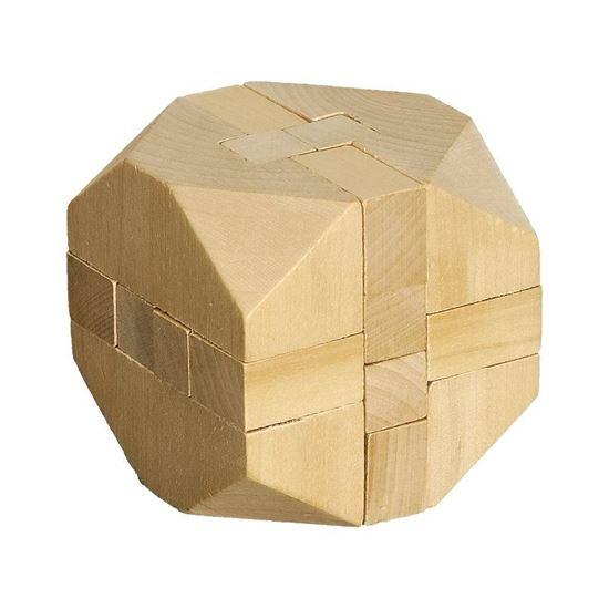 Picture of Układanka logiczna Cube, ecru