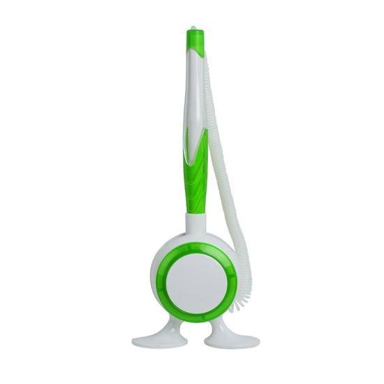 Obrazek Długopis na stojaku Jot & Box, zielony/biały
