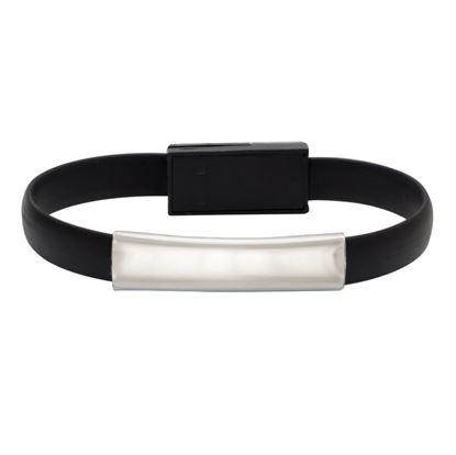 Picture of Kabel USB Bracelet, czarny