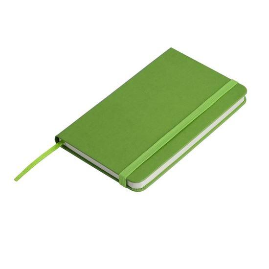 Obrazek Notatnik 130x210/80k kratka Asturias, zielony
