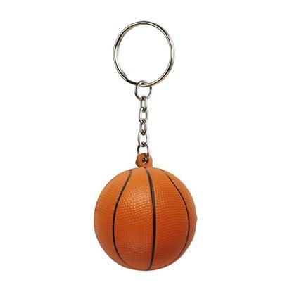 Picture of Brelok antystresowy Basket, pomarańczowy/czarny