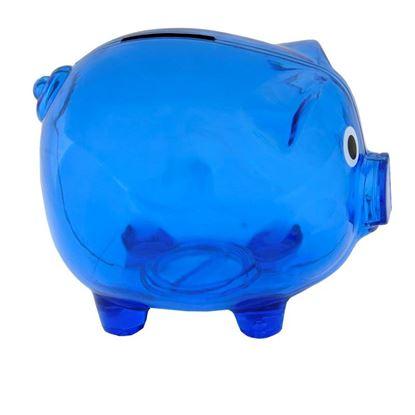 Picture of Skarbonka Moneywise, niebieski