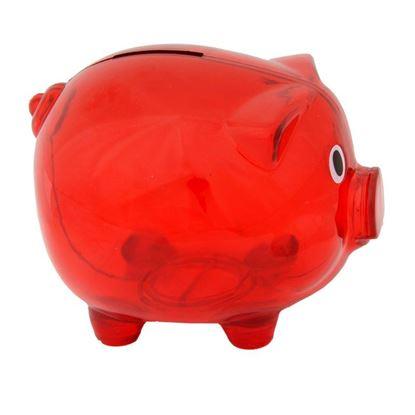 Picture of Skarbonka Moneywise, czerwony