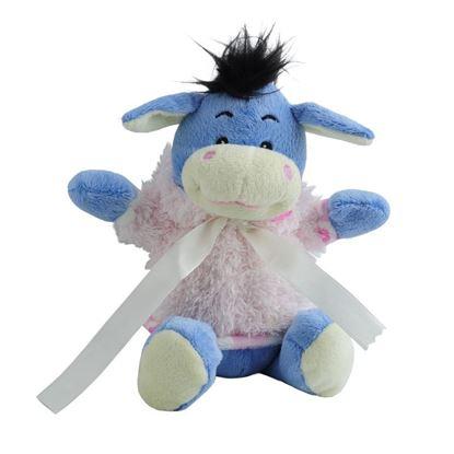 Picture of Maskotka Donkey, niebieski/różowy